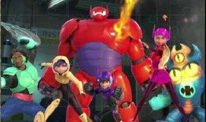 Big Hero 6 Jigsaw Puzzle
