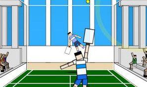 Original game title: Ragdoll Tennis