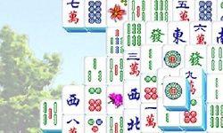 Mahjong Λουλουδένιος Πύργος