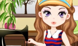 Sewing Cutie Dress-Up