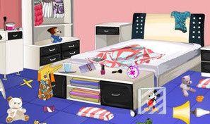 Original game title: Messy Bedroom Decorating