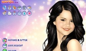 Original game title: Selena Dress Up