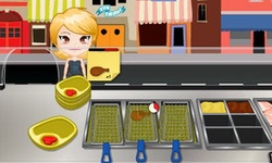 Chicken Food Cart