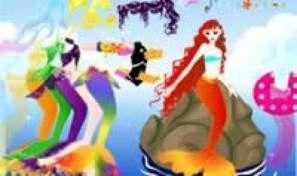 Original game title: Mermaid Dress Up
