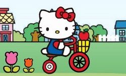 Gita in Bici con Hello Kitty