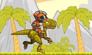 Original game title: Fly Raptor Rider