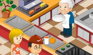 Original game title: Granny's BBQ