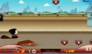Original game title: Pucca Pursuit