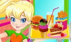La Cafetería de Hamburguesas de Polly