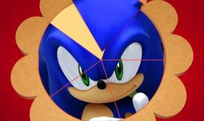 Original game title: Sonic - Round Puzzle