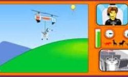 Cartoon Helicopter Hulp