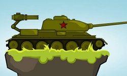Руски танк срещу армията на Хитлер