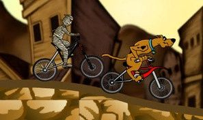 Original game title: Scooby BMX Action