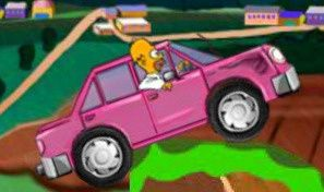 Original game title: Homer's Donut Run