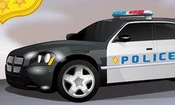 Parkowanie Radiowozu Policji Nowojorskiej
