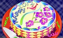 Dekorasi Kue Tahun Baru