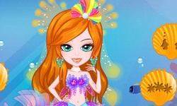 Mermaid Bride Dressup