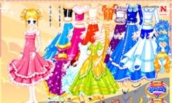 Shiney Princess Dress Up 2