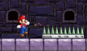 Original game title: Mario Running Challenge