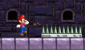 Original game title: Mario Running Challenge