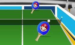 Tenis Meja Kartun