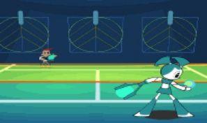Original game title: Techno Tennis