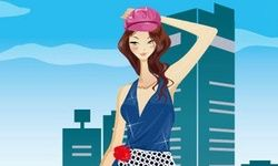 Fashion Street Snap Girl