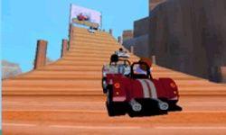 Glad Racen in 3D