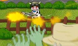 Корова против зомби