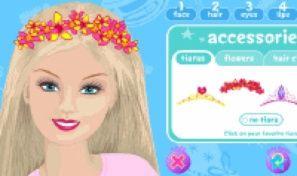 Original game title: Barbie Makeover Magic