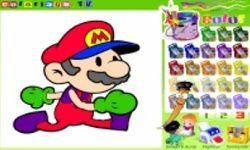 Χρωμάτισε το Mario