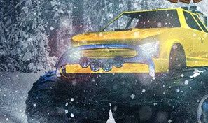 Original game title: Arctic Monster Truck