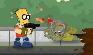 Simpsons Town Defense