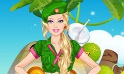 Barbie Army Style