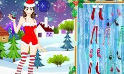 Vestir a una Chica Para Navidad