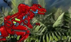 Dino Robot: Battlefield