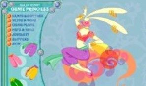 Flash Bunny Genie Princess
