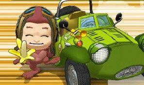 Original game title: Monkey Kart