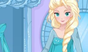 Elsa Manga Fashion Dress-Up