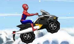 Spiderman Snow Scooter