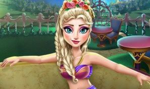 Elsa Jacuzzi Celebration