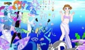 Original game title: Dolphin & Mermaid