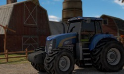 Farm Tractor Driver 3D Parking
