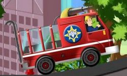Fire Man Sam's Fire Truck