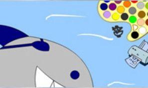 Sharky Coloring
