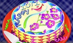 Original game title: 2012 New Year Cake