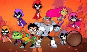 Teen Titans Hidden Letters