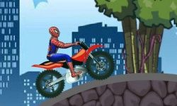 Spiderman et sa Super Moto