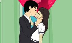High School Teen Kiss