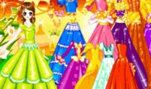 Original game title: Garden Gown Dress Up